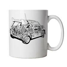 Metro 6R4 Rallye Auto Becher - Geschenk für ihn Vater, Vatertag, Geburtstag