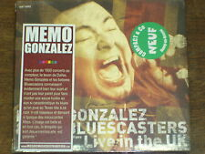 MEMO GONZALES AND THE BLUESCASTERS Live in the UK DIGIPACK CD NEUF