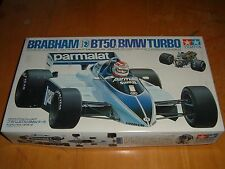 VINTAGE 1983  TAMIYA Model BRABHAM BT50 BMW TURBO RACE CAR Kit #2017