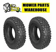 (2) NEW 4.10/3.50-4 STUDDED TIRE 4.10 3.50 4 LAWN MOWER TIRE 10820 23828 7023828