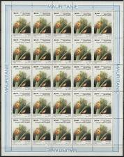 Mauritania**LADYBUG-INSECTS-SHEET 25 stamps @ 30UM-BUZIN-COCCINELLE-MAURITANIE