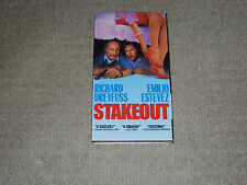 STAKEOUT, VHS MOVIE, EXCELLENT CONDITION