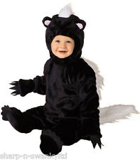 Girls Boys Baby Toddler Halloween Skunk Animal Fancy Dress Costume Outfit