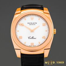 ROLEX CELLINI CESTELLO 18K  ROSE  GOLD 36MM  REF.5330/5 BOX &PAPERS