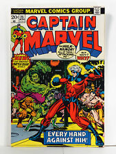 CAPTAIN MARVEL Vol. 1  #25 1973 VF+/NM 9.0   1st Jim Starlin, Thanos War