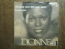 DIONNE WARWICK 45 TOURS HOLLANDE IN YOUR EYES