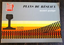 CATALOGUE JOUEF, PLANS DE RESEAUX, MANUEL PRATIQUE, VERS 1980