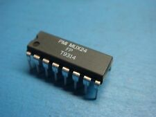 (1) ANALOG DEVICE MUX24FP 4-CHANNEL JFET ANALOG MULTIPLEXER 16 PIN DIP
