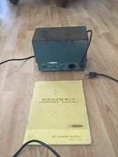 Heathkit Ham Radio Power Supply HP-23-A For Ham Radio + Assembly Manual
