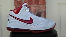 Nike Air Max Lebron 7 VII Woven Red Shoes Size 13 383578-161 1 2 3 4 5 6 8 9 10