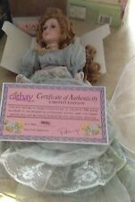 """Cathay Collection """"Angel"""" porcelain doll with COA"""