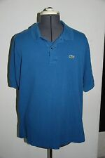 MENS SIZE 8 XL XXL LACOSTE COTTON PULLOVER POLO SHIRT.  NICE!! AUTHENTIC!