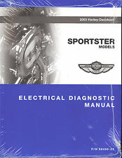 2003 HARLEY-DAVIDSON SPORTSTER 100TH ANV ELECTRICAL DIAGNOSTIC MANUAL -883-1200