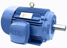 Premium Efficiency Cast Iron AC Motor 10HP 1800RPM 215T 3Phase TEFC Ft