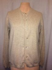 Saks Fifth Avenue Cashmere Sweater Set - Oatmeal - Size Medium (see description)