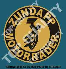 ZUNDAPP MOTOR RADER DECAL STICKER RETRO OLD SCHOOL MOTORBIKE DECALS STICKERS