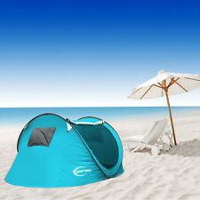 3-4 Person Waterproof Instant/Auto Pop Up Outdoor Camping Hiking Tent Automatic