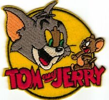 Tom and Jerry Embroided Character Patch - Sew-on / Iron-on Patch