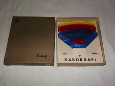 VINTAGE TOY  1960S KARDKRAFT ATLANTIC PLAYING CARD PLASTIC PLAYING CARD HOLDERS