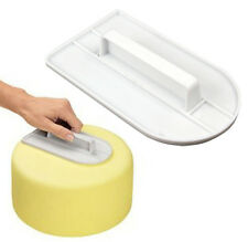 Cake Smoother Decorating Polisher Sugar Craft Sharp Edge Kitchen Modelling Tool