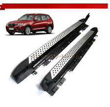 11-16 BMW F25 X3 Aluminum Running Boards Pair Set Side Steps OE Style Rail Nerf