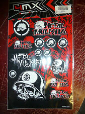 harley davidson  bobber chopper metal melisha sticker  set,