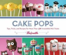 Cake Pops by Bakerella Cookbook Hardcover BOOK