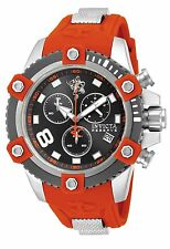 New Mens Invicta Sea Base 17975 Limited Edition Orange Black Bezel Watch