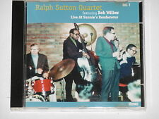 RALPH SUTTON QUARTET FEAT. BOB WILBER -Live At Sunnie's Rendezvous Vol. 1- CD