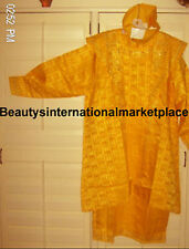 African/Clothes/Wedding/Suit/Dress/LADIESYELLOWGOLD12-C4 Liquidation Sale!!!!