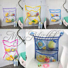 Home Bathroom Suction Net Bag Bath Baby Kid Storage Organizer Tidy Toy New O