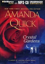 amanda quick   CRYSTAL GARDENS  MP3 CD  unabridged