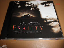 FRAILTY soundtrack CD BRIAN TYLER matthew mcConaighey bill paxton DALE WATSON