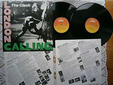 THE CLASH LONDON CALLING RARE ORIGINAL EX YUGOSLAV 1ST PRESS 1981 EX/EX/EX