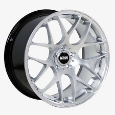 18x9.5 VMR Rims V710 CUSTOM ET45 Hyper Silver Wheels (Set of 4)