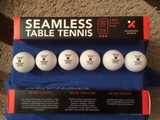 18 New Plastic Xushaofa 3 Star Seamless Table Tennis Balls