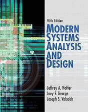Modern Systems Analysis and Design (5th Edition)