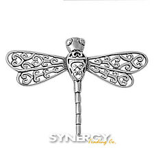 .925 Sterling Silver Lucky Dragonfly Pendant - BRAND NEW