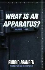 'What is an Apparatus?' and Other Essays (Meridian: Crossing Aesthetics), Giorgi