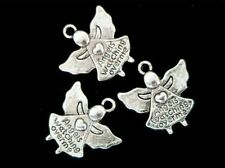 50 x 20mm Tibetan Silver Angel 's Watching Over Me Charms Jewellery Pendant U183