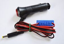 Yaesu FT817 FT817ND power lead + switched/fused 12V 'cigar' plug and marker
