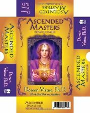 Ascended Masters Oracle Cards:44-Card Deck and guidebook(Cards) by Doreen Virtue