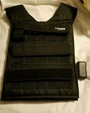 Titan Fitness Adjustable Weighted Vest  Resistance Weight Training Football