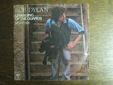 BOB DYLAN 45 TOURS HOLLANDE CHANGING OF THE GUARDS