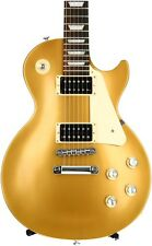 Gibson Les Paul Studio '50s Tribute 2016, Traditional - Satin Gold Top Dark Back