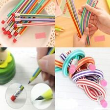 5Pcs Colorful Magic Flexible Bendy Soft Pencil Novelty Gift For Kids