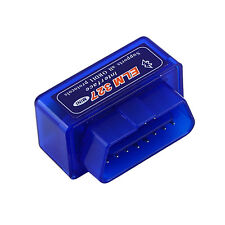 NEW Mini ELM327 V2.1 OBD2 II Bluetooth Diagnostic Car Auto Interface Scanner GH