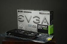 EVGA GeForce GTX 750 Ti 2GB GDDR5 PCI E 3.0 FTW w/ACX Cooling