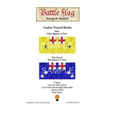 Battle Flag - London Trayned Bandes Yellow Regiment (English Civil War) - 28mm