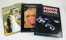 PHOTOGRAPHY INFORMATION BOOKS, SET OF 3